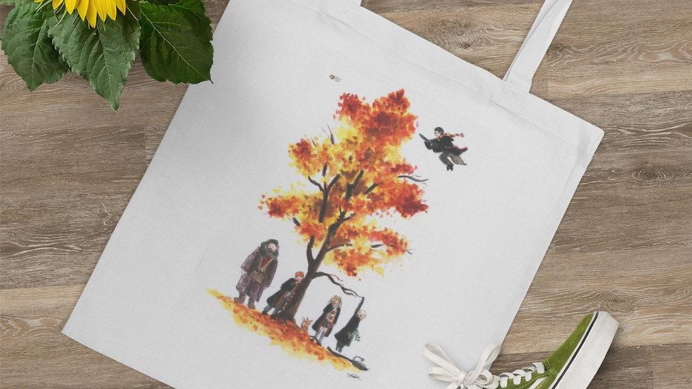 Harry Potter Watercolour Original Design Tree Tote Bag
