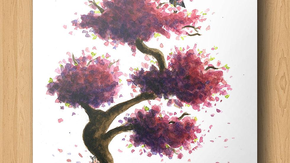 Ghibli Princess Mononoke Original Design Print