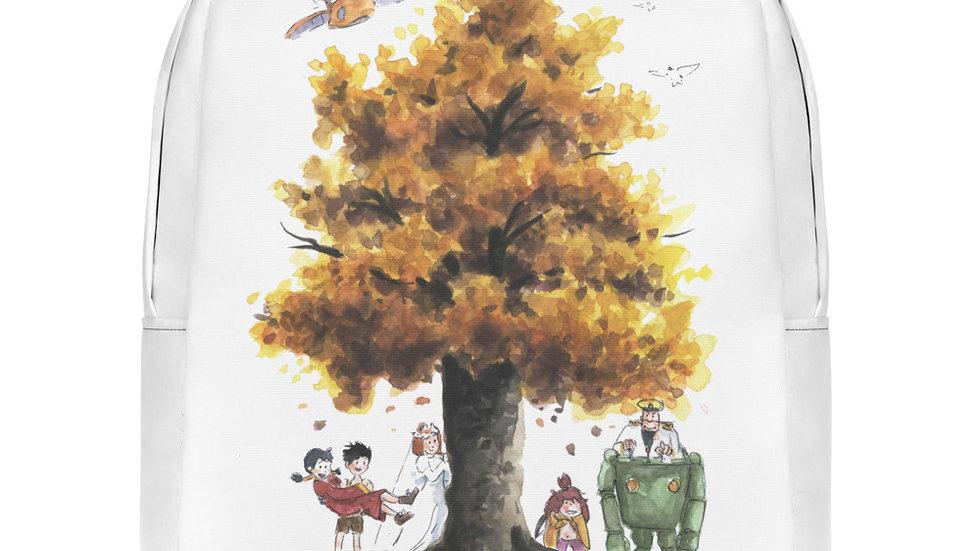 Studio Ghibli Future Boy Conan Watercolor Original Design Minimalist Backpack