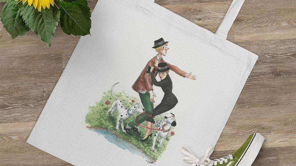 Disney 101 Dalmatians Watercolor Original Design Tote Bag
