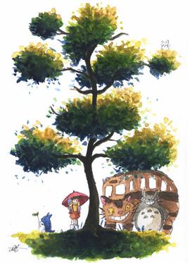 Totoro Tree