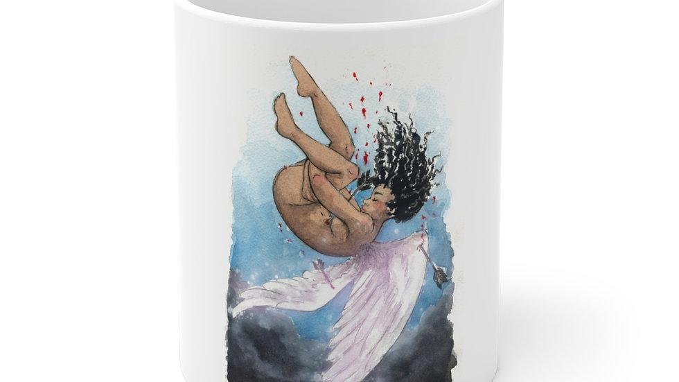 Black Lives Matter Watercolor Original Design Ceramic Mug (EU)
