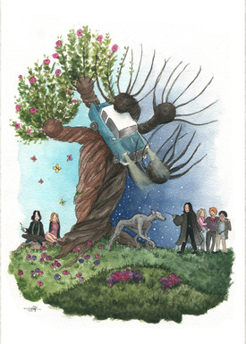 Harry Potter Snipe Tree