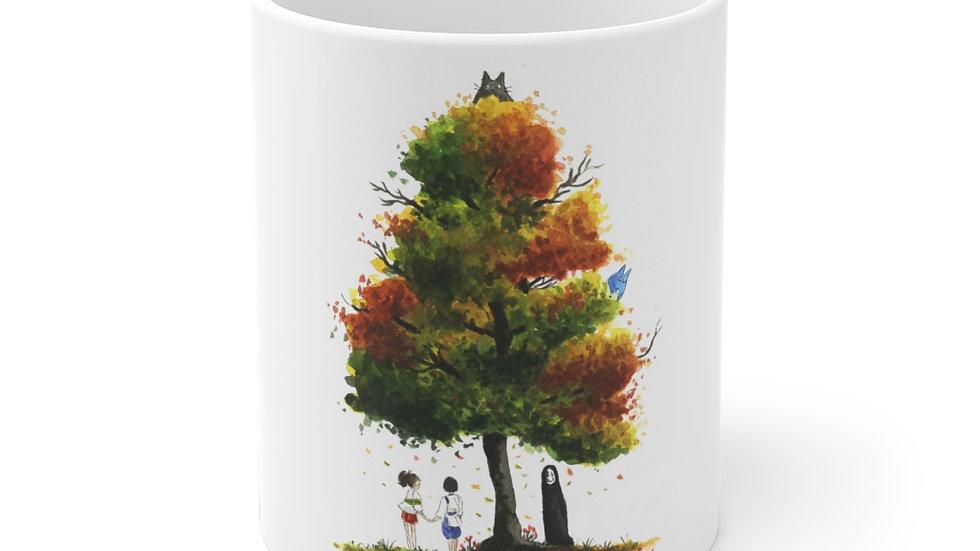 Spirited Away & Totoro Watercolor Original Design Ceramic Mug (EU)