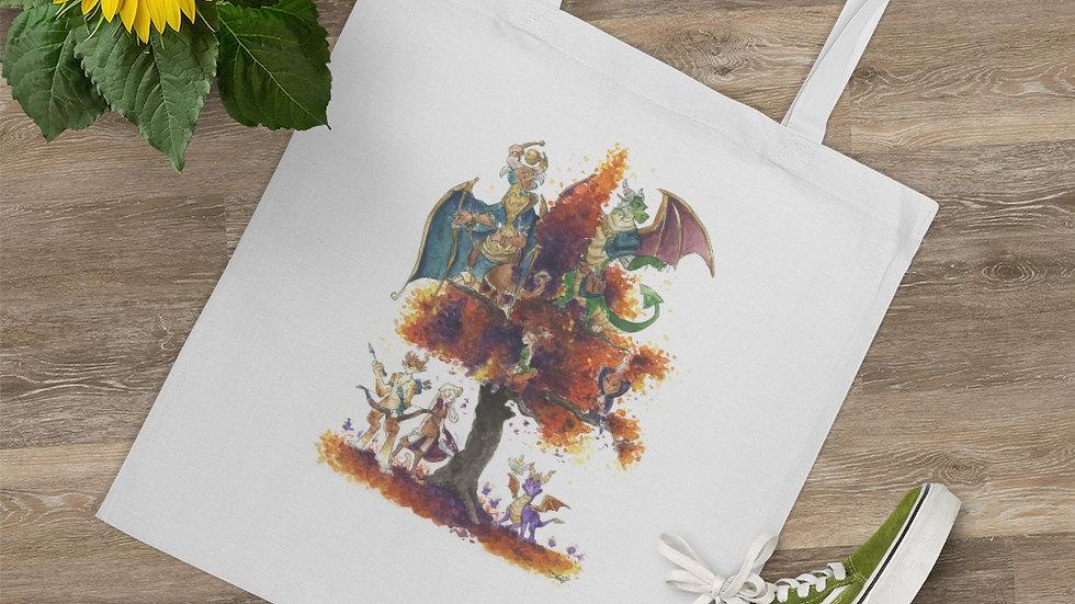 Spyro the Dragon Watercolor Original Design Tote Bag