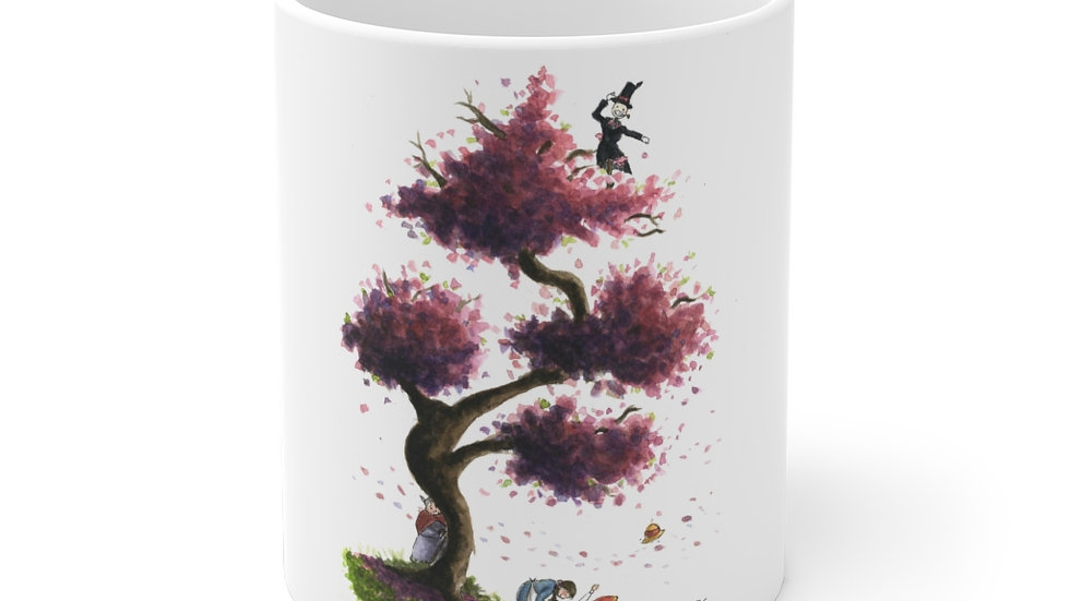Studio Ghibli Howl's Moving Castle Watercolor Original Design Ceramic Mug (EU)