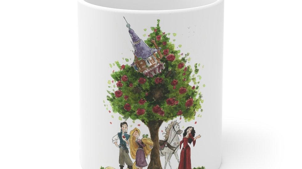 Disney Rapunzel Watercolor Original Design Ceramic Mug (EU)