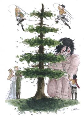Attack On Titans Tree