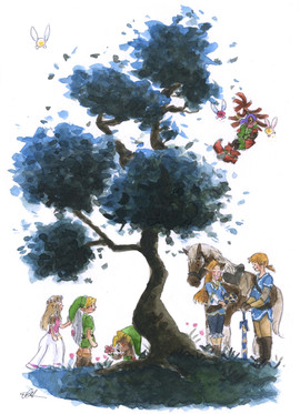 Zelda Tree