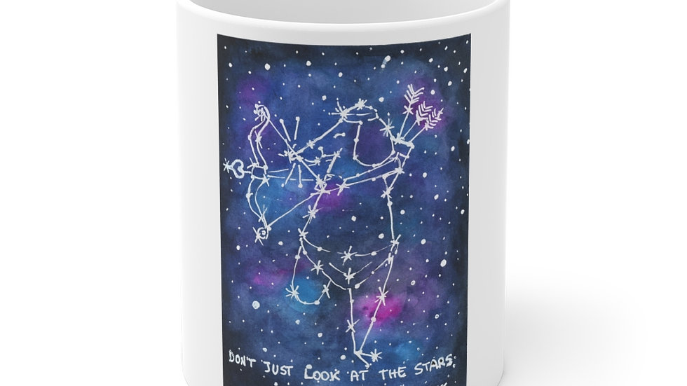The Mouse Constellation Watercolor Original Design Ceramic Mug (EU)