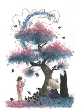 Spirited Away Dragon Tree
