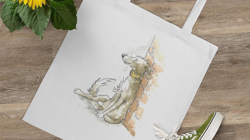Dreamy Dog Watercolor Original Design Tote Bag