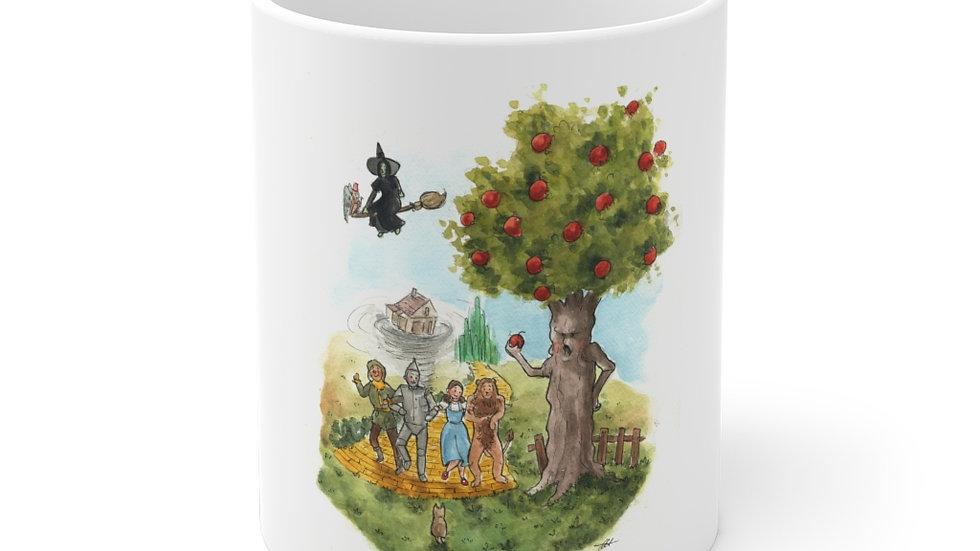 The Wonderful Wizard of Oz Watercolor Original Design Ceramic Mug (EU)