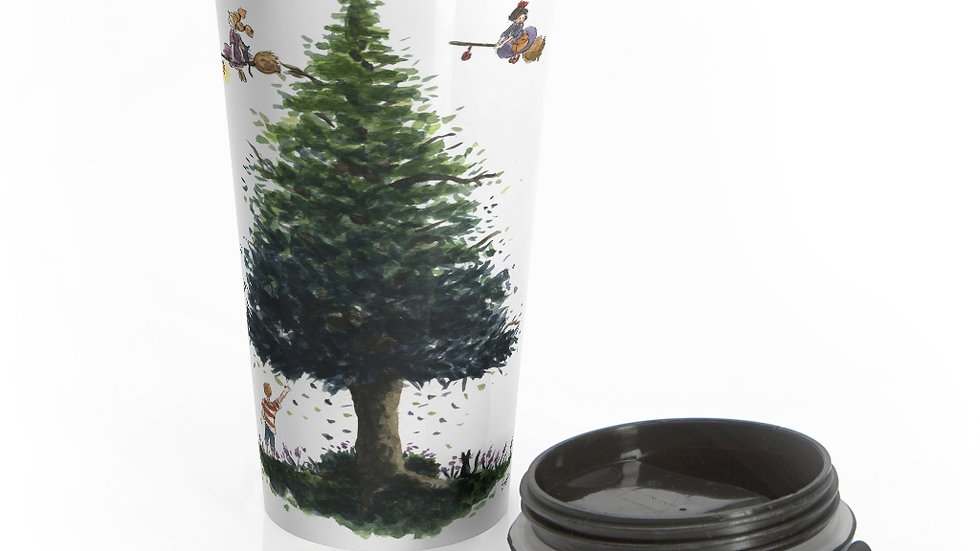 Studio Ghibli Kiki's Delivery Service Original Design Stainless Steel Travel Mug