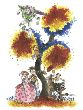 Toy Story Tree