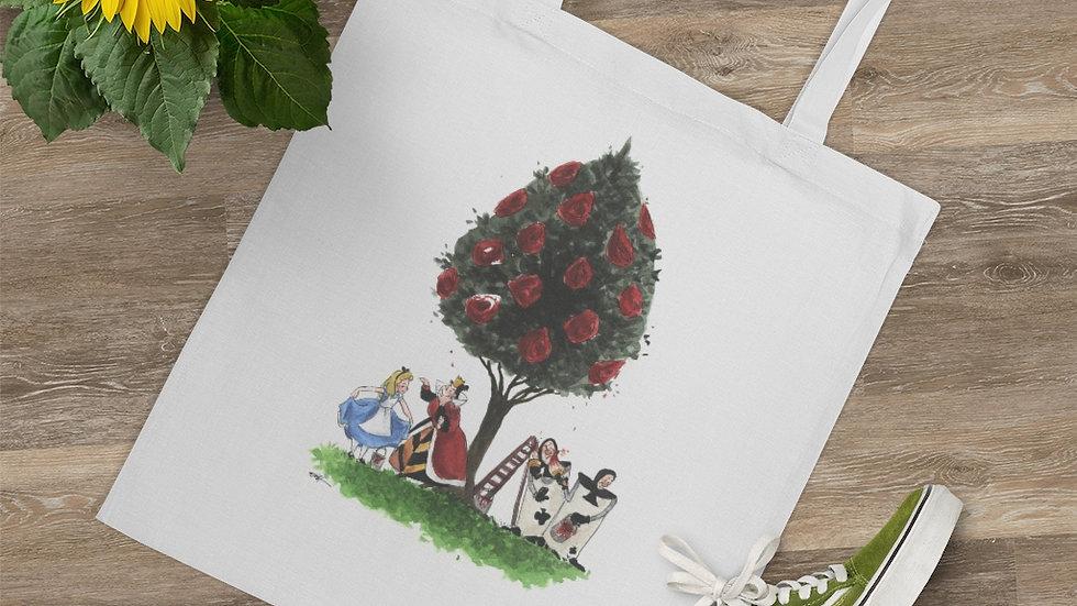 Disney Alice in Wonderland Watercolor Original Design Tote Bag