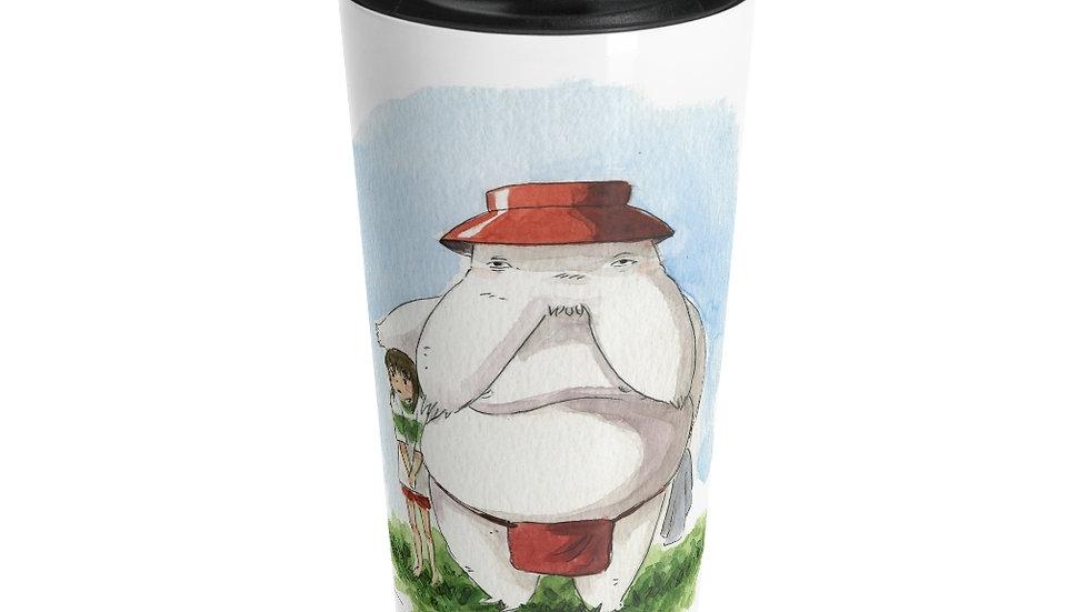 Studio Ghibli Spirited Away Radishman Original Design Stainless Steel Travel Mug