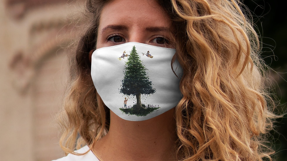 Studio Ghibli Kiki's Delivery Service Design Snug-Fit Polyester Face Mask