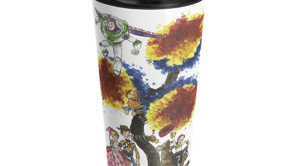 Disney Pixar Toy Story Original Design Stainless Steel Travel Mug