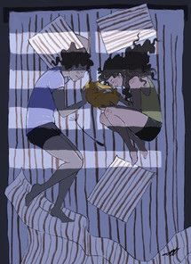romantic sleep