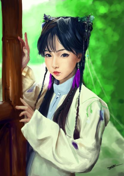 Japanese Girl Tekken Style