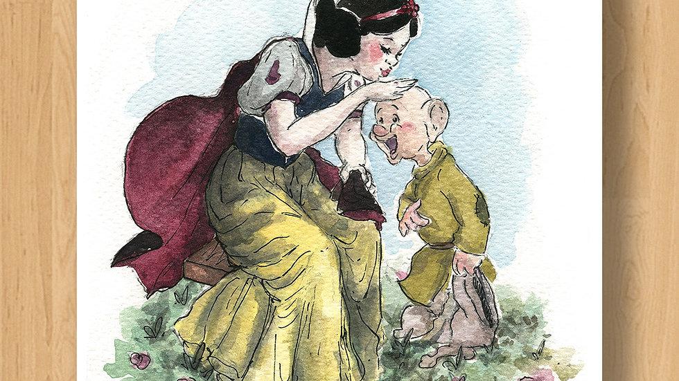 Disney Princess Snow White Original Design Print