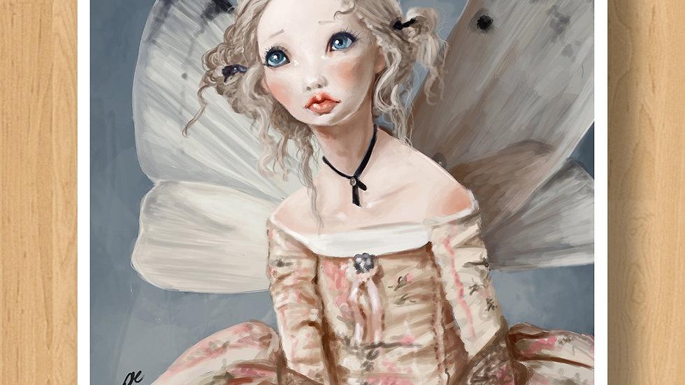 Butterfly Fairy Original Design Print