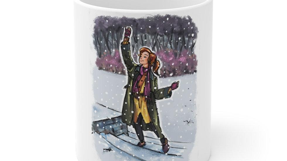 Princess Anastasia Watercolor Original Design Ceramic Mug (EU)