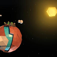 Low Poly Little planet