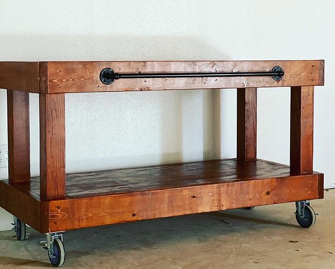 Custom Portable Wooden Bar