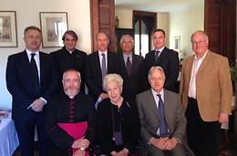 The Board of Directors of the association Chiesa d'Ignhilterra held it's inaugural meeting