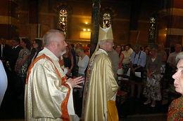The Archbishop of Canterbury celebrates Eucharist at All Saints' Church Rome