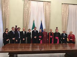Palazzo Chigi_delegazione Intesa_26.03.1