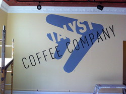 CATALYST COFFEE COMPANY MURAL