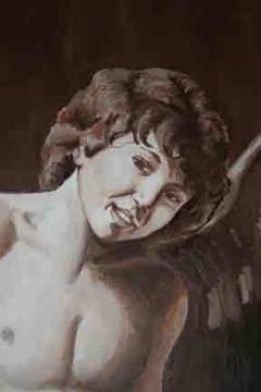 Amor Vincit Omnia (Caravaggio) Partial R