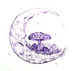 Mushrooms On the Moon