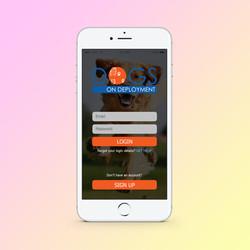 Dogs on Deployment App Prototype