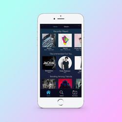 Music App Redesign