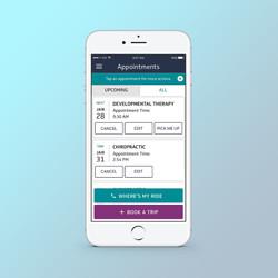 Veyo Member App (Homepage)