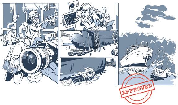 Illustrasjon til magasinet WWWorld