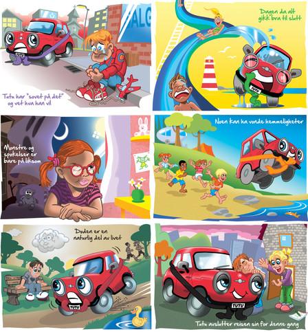 Illustrasjoner fra boka