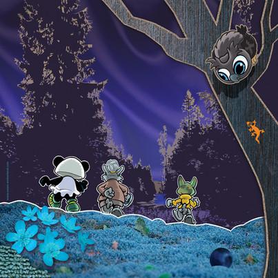 Illustrasjon fra Grønnhette