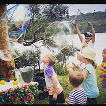 Interactive Bubbles