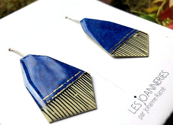 Pendant earrings -Joan-336