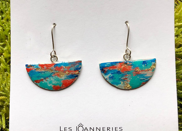 Half moon earrings - Joan-761