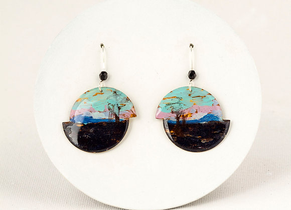 Pendant earrings -Tom-Thomson - Joan-826
