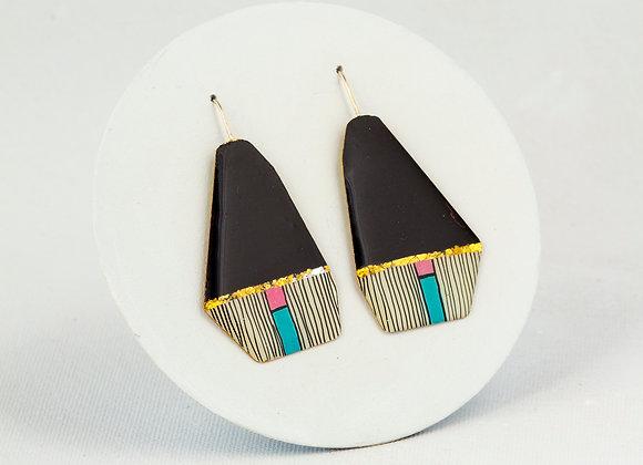 Klimt style earrings 131