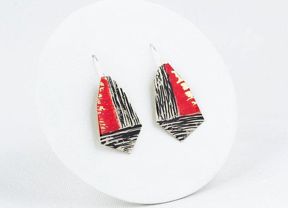 Boucles d'oreilles pendantes -Joan-739