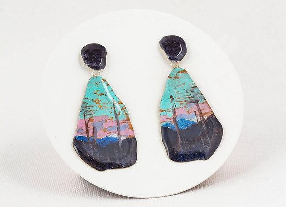 Pendant earrings - Tom Thomson - Joan-827