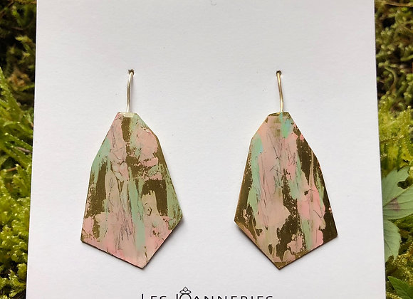 Pendant earrings -Joan-550
